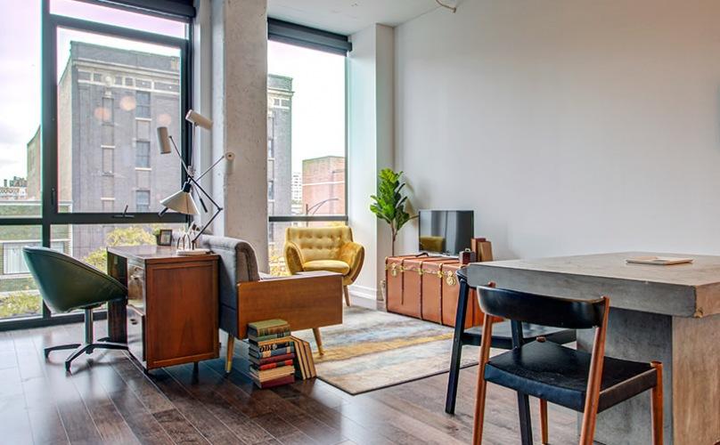 Vintage vibes studio space